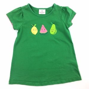 Hanna Andersson 120 Fruit Print Graphic Tee